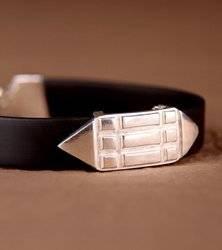 Atlantis Armband - Silber 925 Leder
