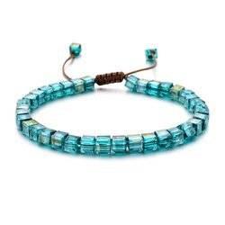 Azurblau Kristall Armband ZMZY