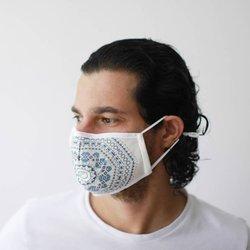 Modische Schutzmaske - Azteken-Tribalmuster
