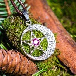 Pentagramm mit Stein