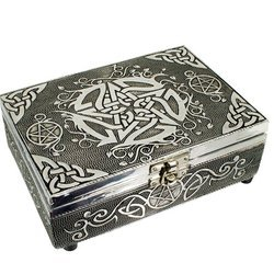 Tarot Box mit Pentagramm