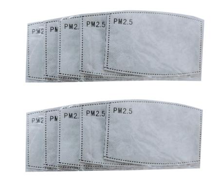 4x PM2.5 Filtereinsatz für Masken (Erwachsene)